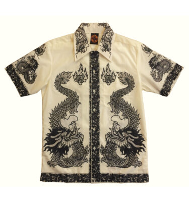 CAMISA CHENASKI BLACK DRAGON RETRO SHIRT
