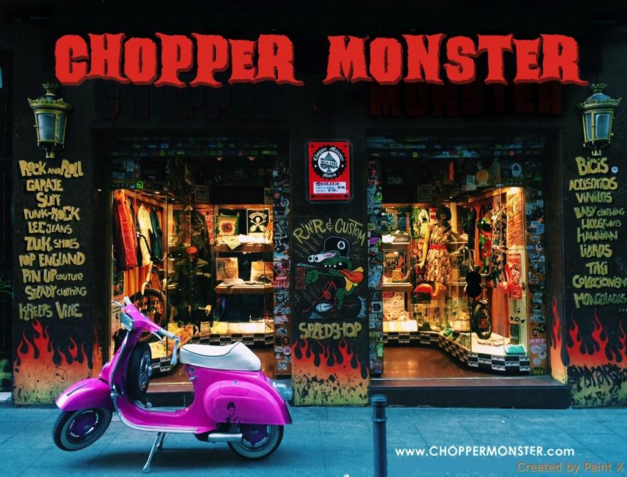 CHOPPER MONSTER RADIO SHOW!  «Novedades en la tienda en 7 pulgadas»