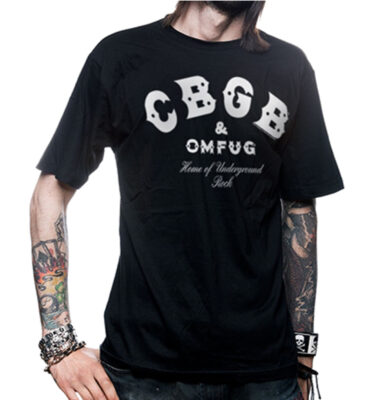CAMISETA CBGB & OMFUG LOGO T-SHIRT BASIC TEE