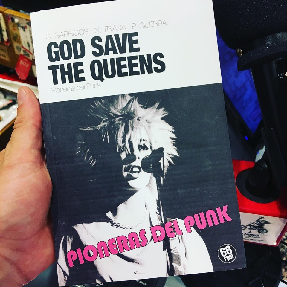 «GOD SAVE THE QUEENS, PIONERAS DEL PUNK» con Cristina Garrigós y Alfred Crespo.