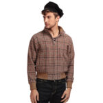 CAZADORA COLLECTIF MENSWEAR BARRY CHECK JACKET