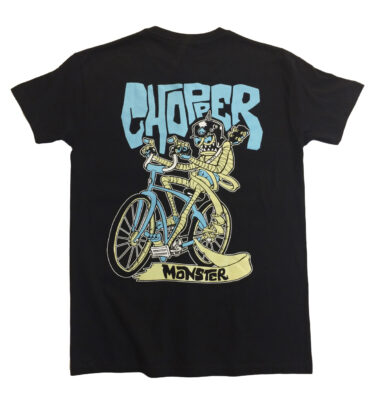 CAMISETA CHOPPER MONSTER MUMMY ON WHEELS
