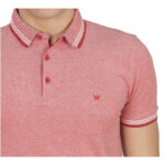 POLO WRANGLER SHORT SLEEVE REFINED FORMULA RED