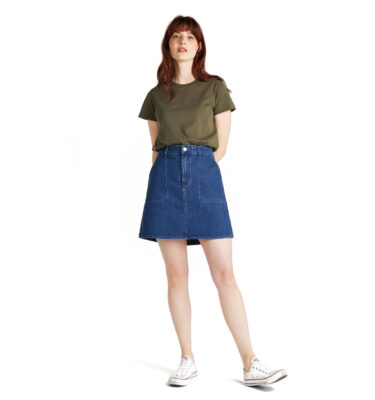 FALDA VAQUERA LEE® MILITARY SKIRT MID JELT