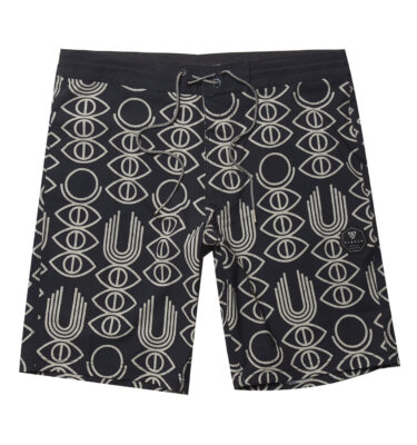 "BAÑADOR VISSLA® REAL FUN EYES 20"" BOARDSHORT BLACK"
