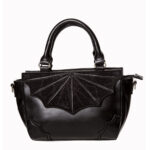 BOLSO BANNED ALTERNATIVE LARGE BLACK WIDOW BAG