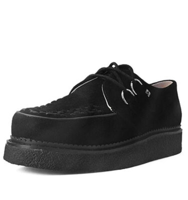 T.U.K. CREEPERS 1970 ORIGINAL BLACK SUEDE