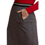 FALDA KING LOUIE DAVIS SKIRT PASTILLE BLACK