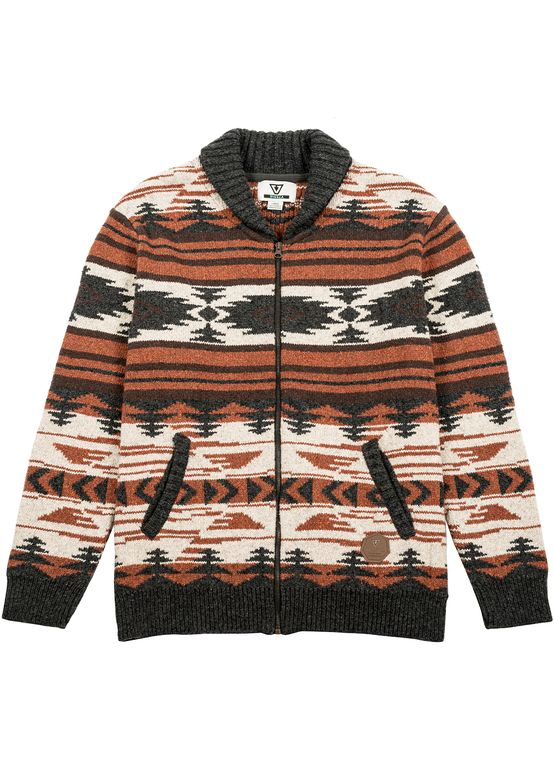 CHAQUETA VISSLA WICASA UPCYCLED SWEATER SAND
