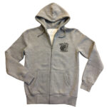 SUDADERA CHOPPER MONSTER COYOTE ON THE BACK GREY